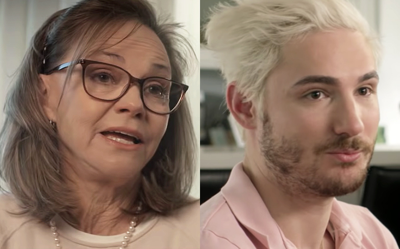 Sally Field and her gay son Sam are fighting for the Equality Act
