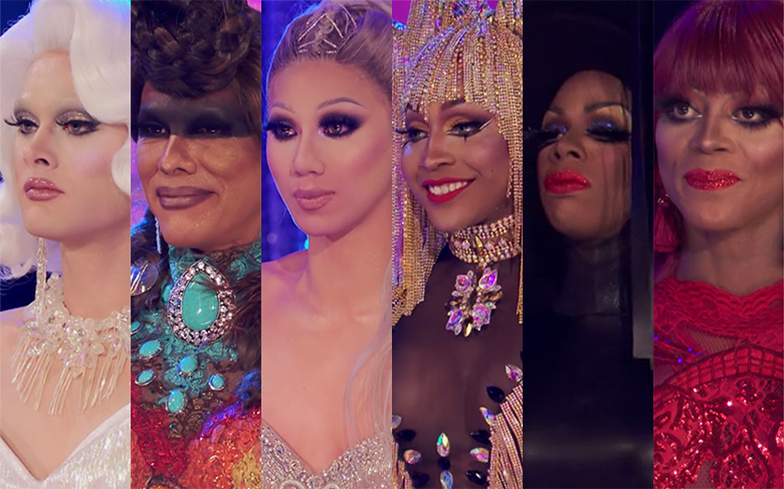 10 of the best memes about Drag Race's sickening six-way lip sync