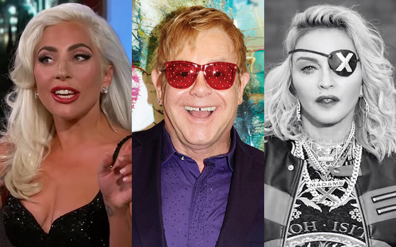 Elton John Says Madonna Was Ungracious And Nasty About Lady Gaga In New Book