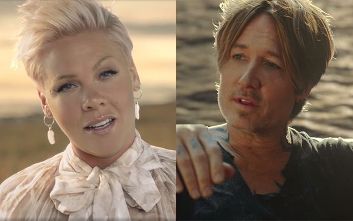 Pink Teams Up With Keith Urban For Carefree Country Pop Anthem