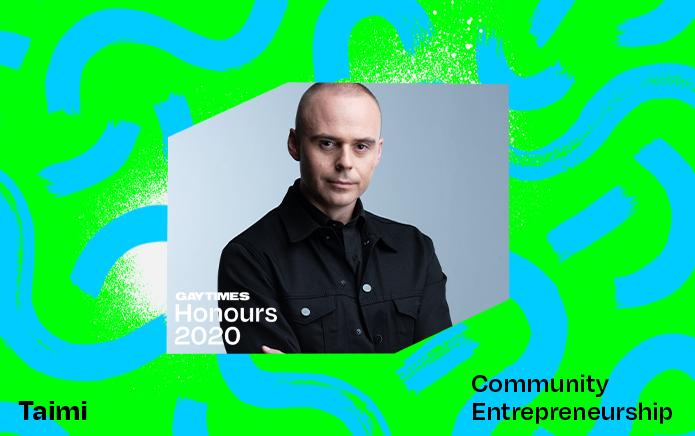 Taimi wins the GAY TIMES Honour for Community Entrepreneurship
