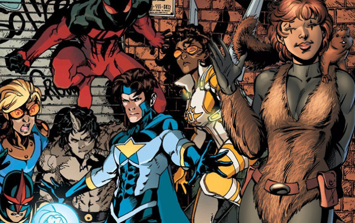 """Marvel's New Warriors TV sequence allegedly canceled for being """"too homosexual"""""""