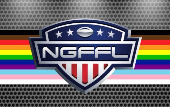 Facebook: (National Gay Flag Football League)